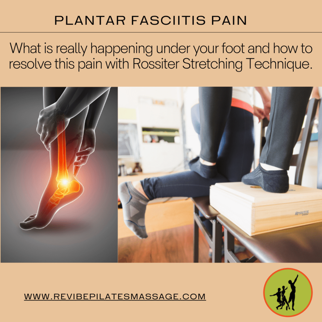Relieve plantar fasciitis with Rossiter Stretching Technique